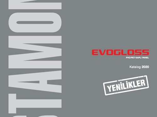 Evogloss PVC/PET Kaplı Panel Kataloğu
