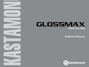 Glossmax Acrylic Lacquered Panel User Manual