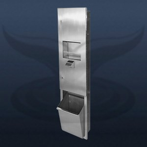 Paper Towel Holder, Hand Dryer and Trash Can | STC-3110