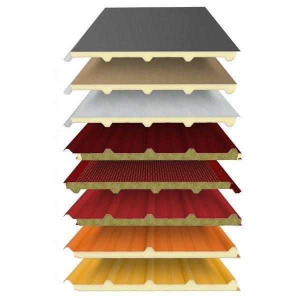 PUR/PIR ve Taşyünü İzolasyonlu Sandviç Panel
