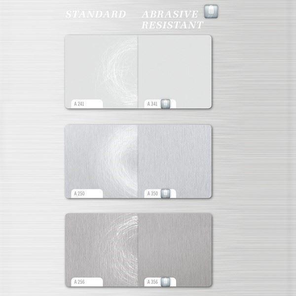 Scratch Resistant Metal Laminates