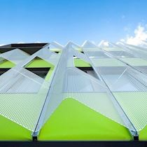 Colored Membrane for Facade/Stamisol Effect