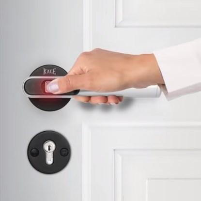 Kale Fingerprint Door Handle | KD050 / 50-120 - 0
