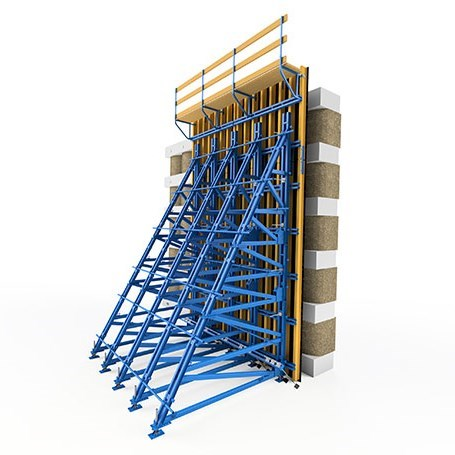 WOODSET® Wooden Girdered Single Sided Formwork System