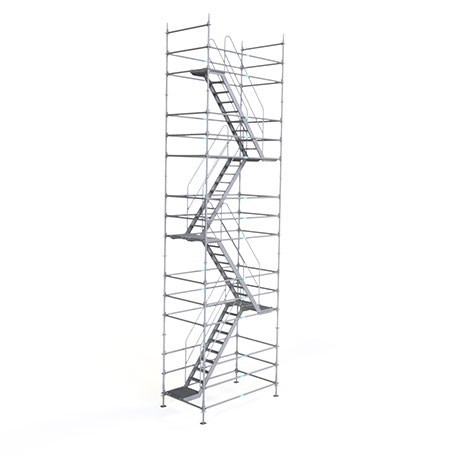 SCAFSET® Flanged Stair Tower System
