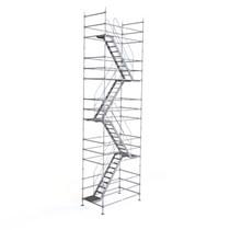 SCAFSET® Flanşlı Merdiven Kule Sistemi