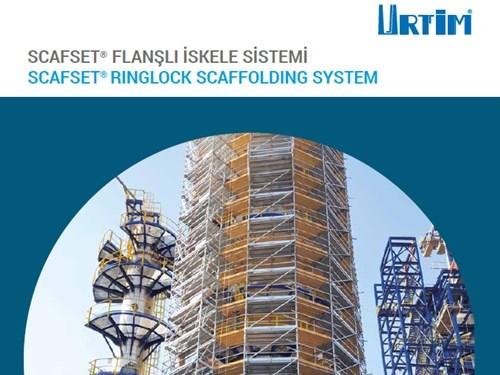SCAFSET® Flanşlı İskele Sistemi Broşürü