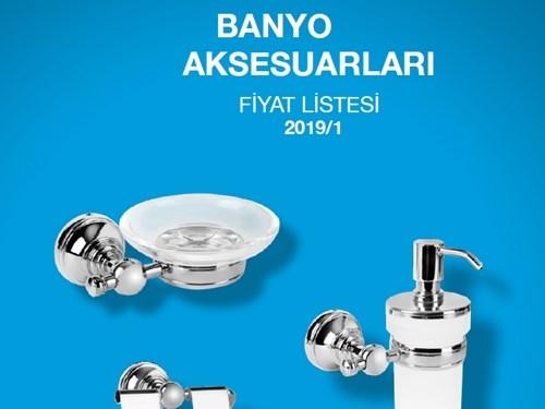 Serel Banyo Aksesuarları Fiyat Listesi