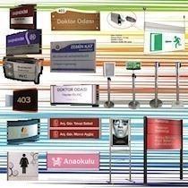 Mimari Yönlendirme Sistemleri, Tanıtım Ürünleri, İç ve Dış Mekân Reklam Çözümleri