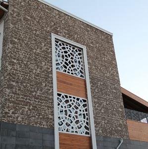 Masonry Stone Look Fiber Polyester Panel Coverings - 1