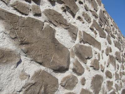 Masonry Stone Look Fiber Polyester Panel Coverings - 2