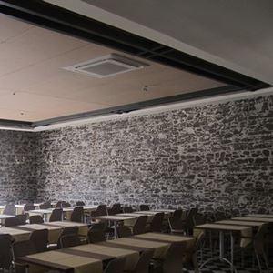 Masonry Stone Look Fiber Polyester Panel Coverings - 3