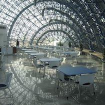 Prefabrike Çelik Uzay Kafes Çatı Sistemleri