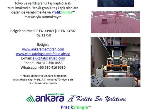 Ankara Membran Ürün Kataloğu