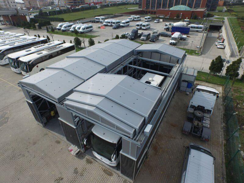 Libart - Mercedes-Benz Hareketli Çatı Sistemi