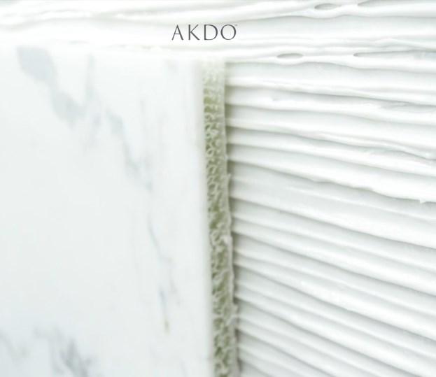 AKDOLAM | 3D Fiberlass - Harç ile Uygulama