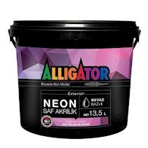 Alligator Neon Mat
