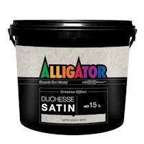 Alligator Duchesse Satin