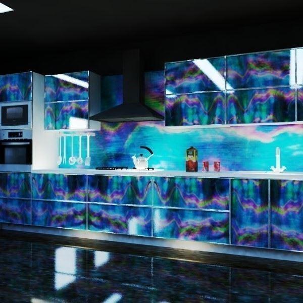 Glass Mutfak