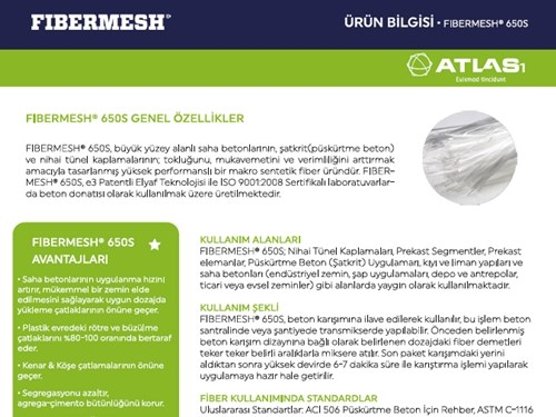 FIBERMESH 650S Product Brochure