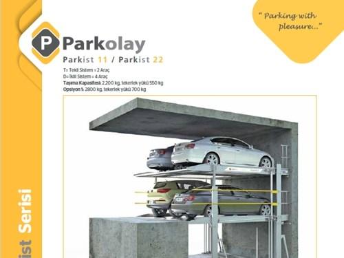 Parkist 11&22 Mekanik Otopark Sistemi Ürün Teknik Dosyası (TR)