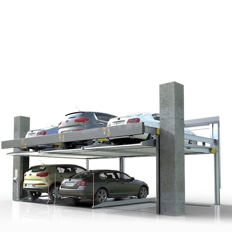 Parkonfor 11-Car Parking System without Pit