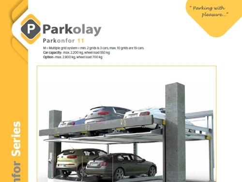 Parkonfor 11 Yarı Otomatik Otopark Sistemi Ürün Teknik Dosyası (EN)