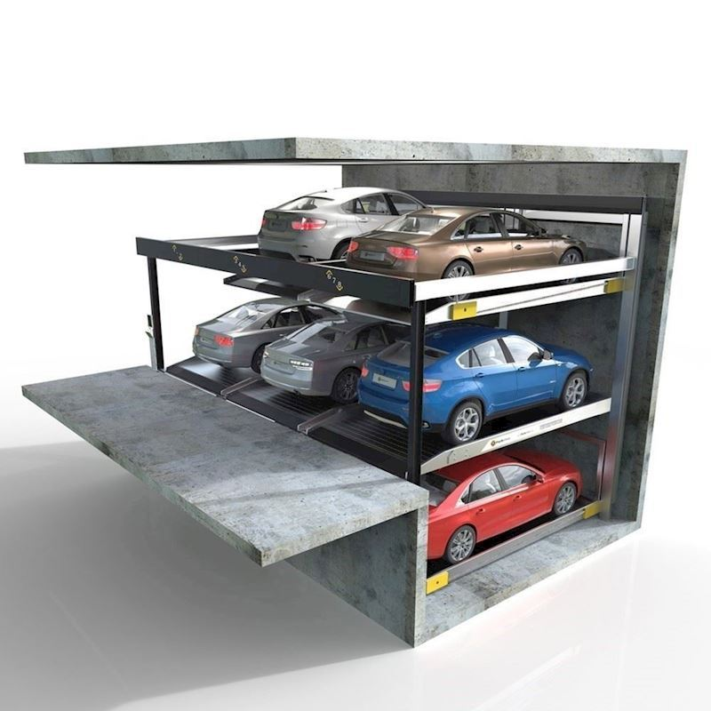 Parkonfor 111-Car Parking System with Pit