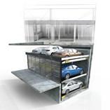 Parkonfor 111-Car Parking System with Pit - 0
