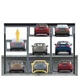 Parkonfor 111-Car Parking System with Pit - 1
