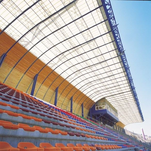Polycarbonate Roofing System - 1