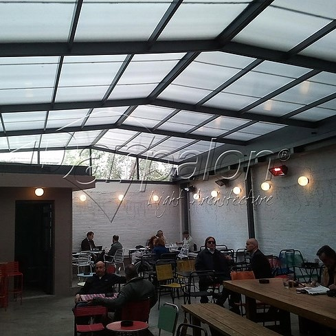Polycarbonate Roofing System - 9