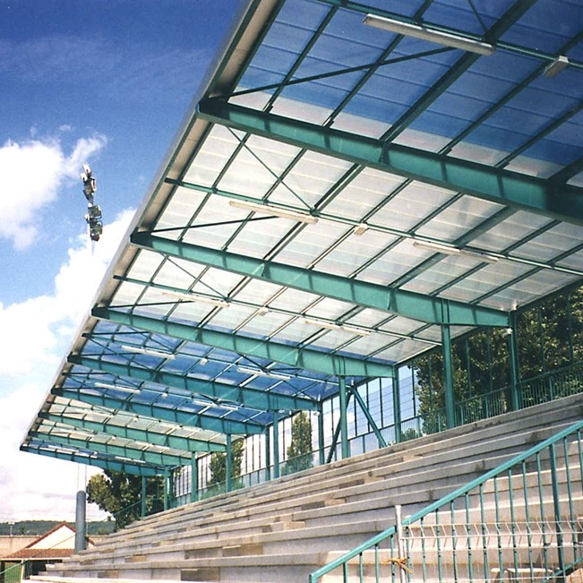 Polycarbonate Roofing System - 0