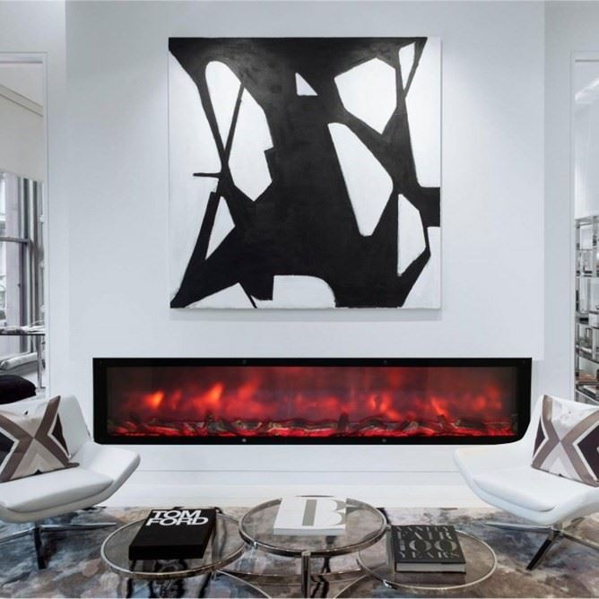 Plasma Fireplace Flame Effect Wood 200 [EN]