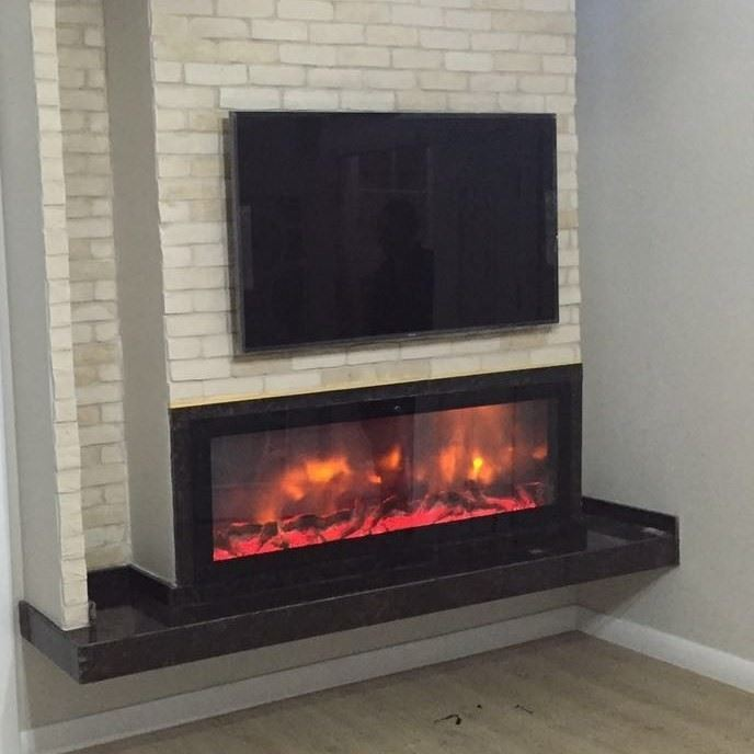 Plasma Fireplace Flame Effect Wood 150 [EN]