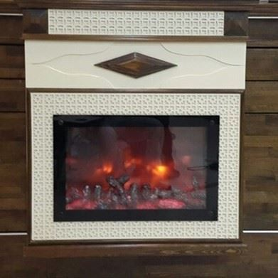 Plasma Fireplace Flame Effect Wood 60 [EN]