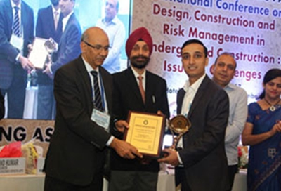 2017 India TAI Young Tunneller of the Year Award