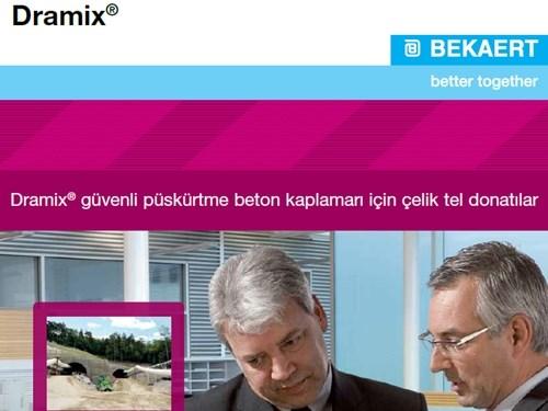 Dramix | Güvenli Püskürtme Beton Kaplamaları İçin Çelik Tel Donatılar