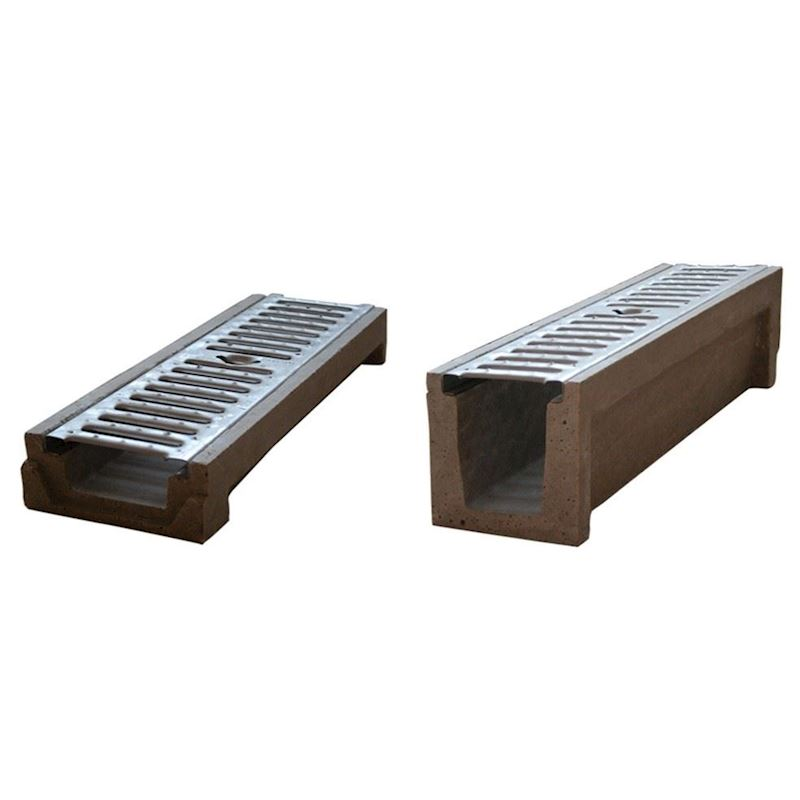 Polymer Concrete Drainage Channel | KP Edge Type