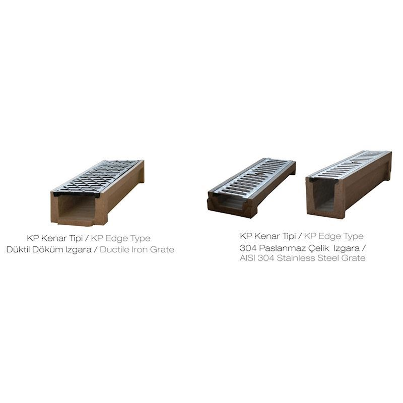 Polymer Concrete Drainage Channel | KP Edge Type - 1