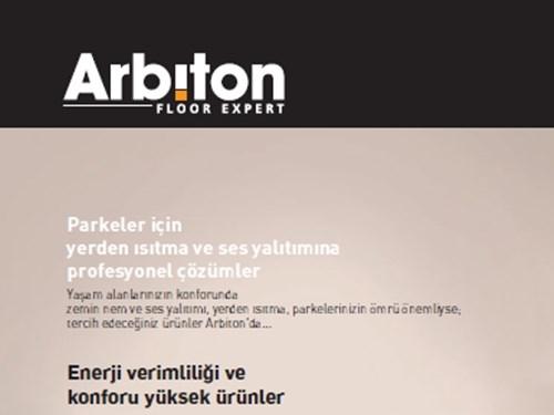 Arbiton Ürün Broşürü