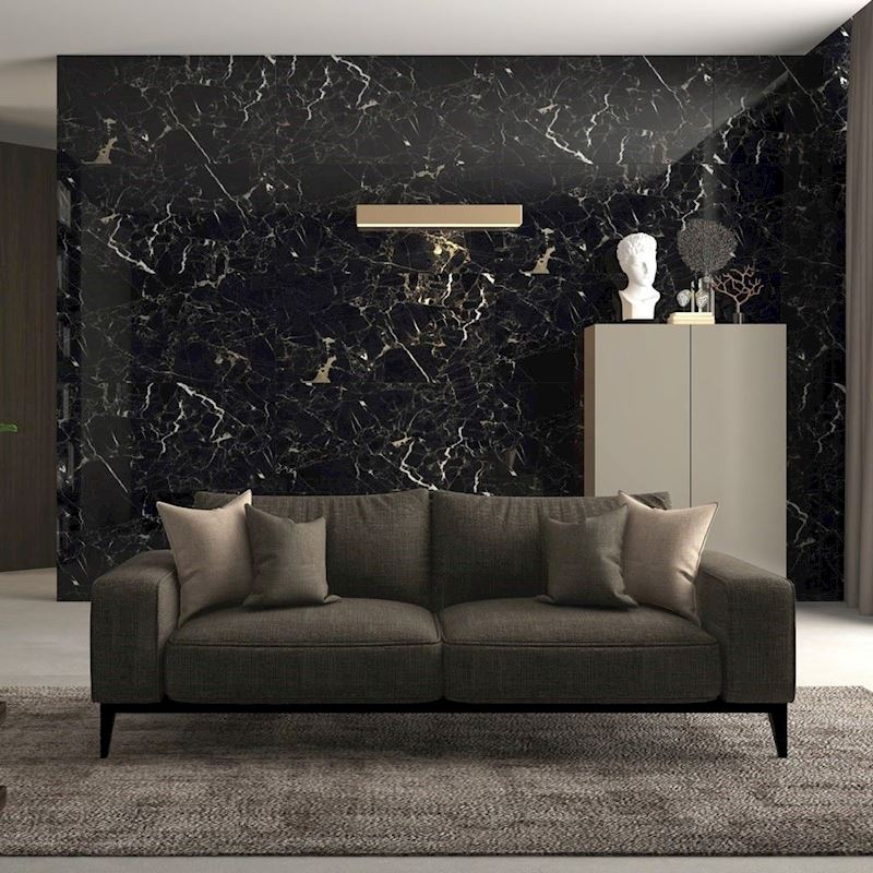 Porcelain Tiles | Black rose