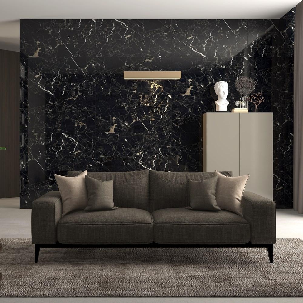 Porcelain Tiles   Black rose - 4