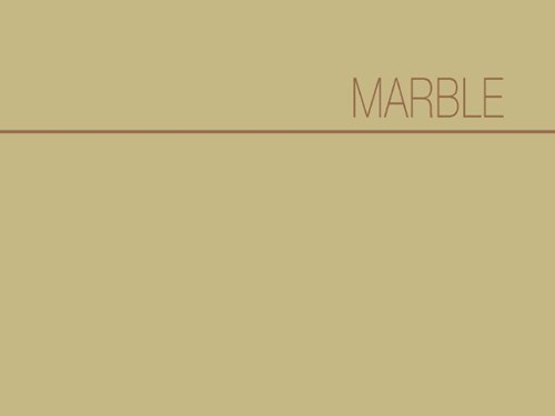 Marble Collection Catalog