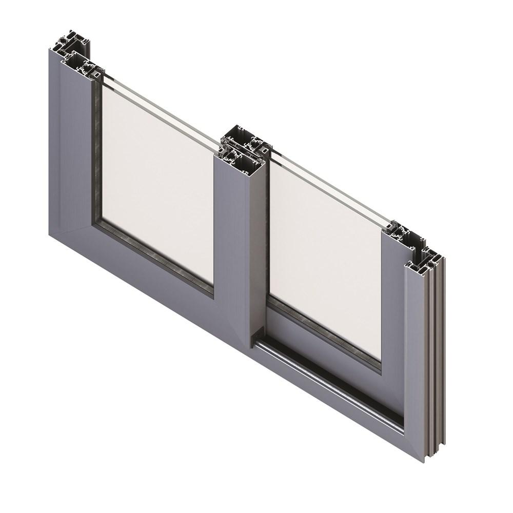 Alüminyum Kapı ve Pencere Sistemleri | S 36 KS - 0