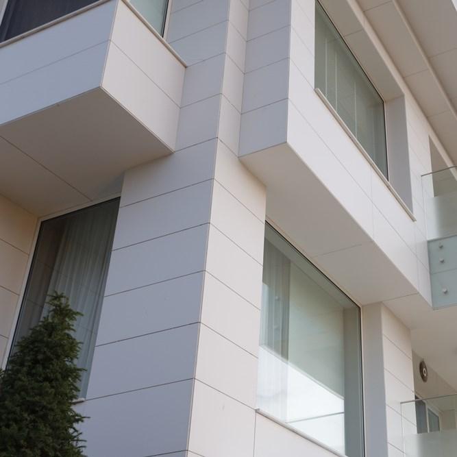 Quartz Based Composite Stone Facade Coating  - 2