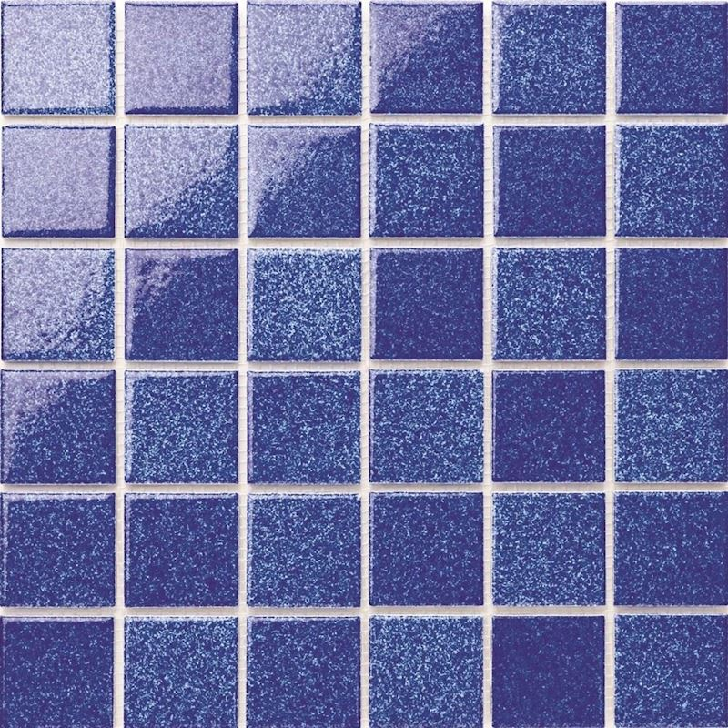 P Avon Cobalt Porcelain Mosaic
