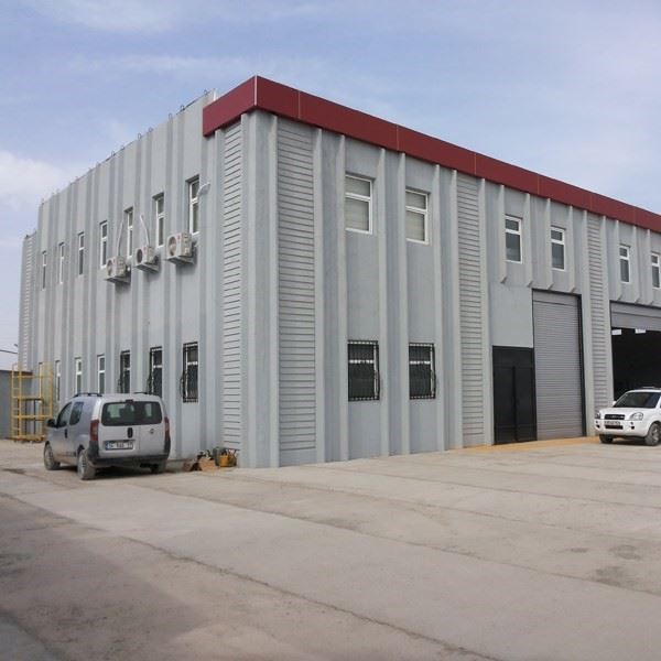 Prefabricated Reinforced Concrete Industrial Buildings