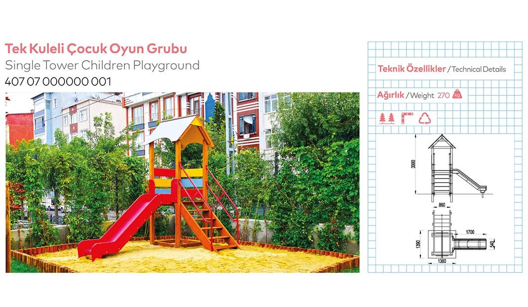 Children Playground Equipments - 1