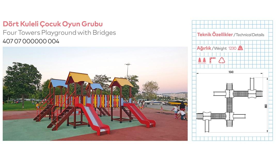 Children Playground Equipments - 4